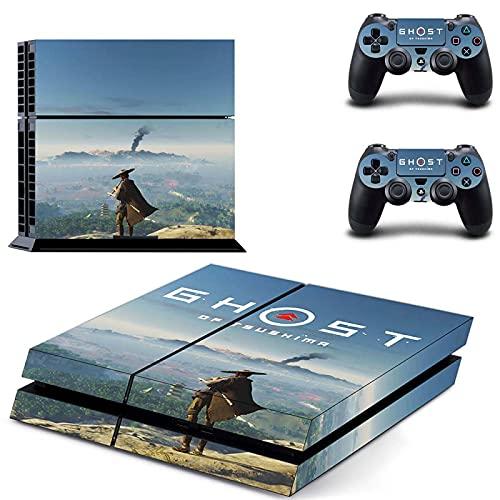 TSWEET Calcomanía PS4 Skin Sticker para Playstation 4 Consola protección película +2 unids controladores cubierta