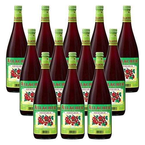 Allacher Ribiselwein, Fruchtwein aus Österreich 6% vol. (12 x 1 l)