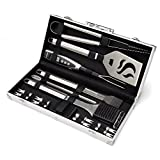 Cuisinart Deluxe Grill Set, 20-Piece, CGS-5020, Stainless Steel