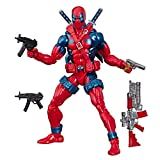 Hasbro-X-Force Deadpool Figura 15 Cm Marvel 80's Exclusive Eu Comic Con, multicolor (HSBE6510E50) , color/modelo surtido