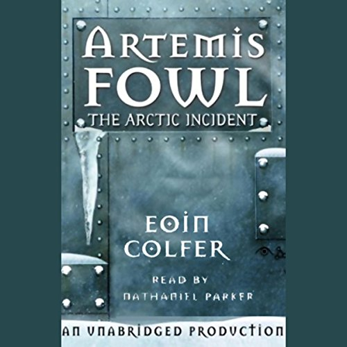 The Arctic Incident audiobook cover art