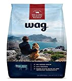 Amazon Brand - Wag Dry Dog Food Beef & Lentil Recipe with Wild Boar (5...