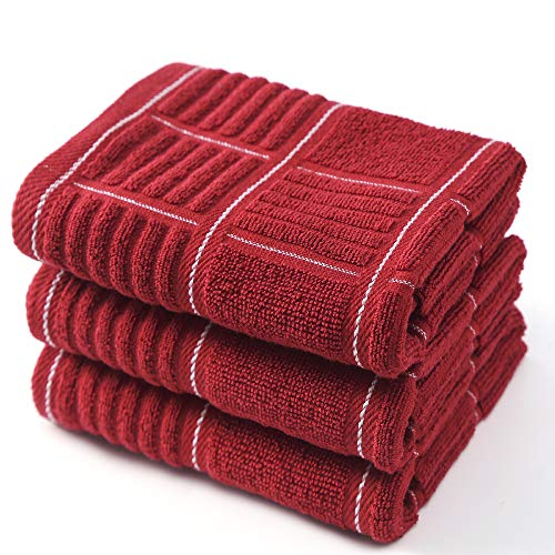 Top 10 Best Selling List for red kitchen dish towels
