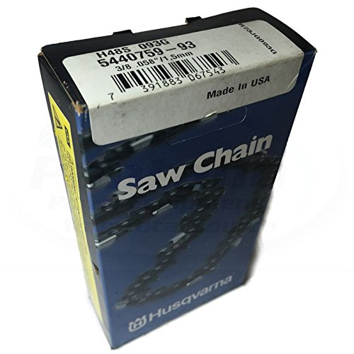 Husqvarna 591152593 H48S-093G 28' Skip Tooth Chisel Chainsaw Chain 3/8 .058 93DL