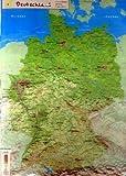 GeoReliefkarte Deutschland (Kunststoff) -
