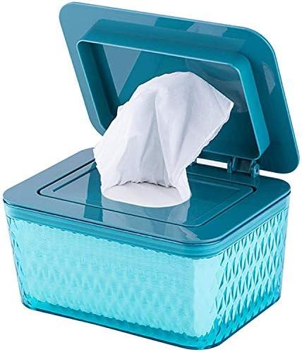 Premium Diaper Wipes Dispenser Tissue Storage Box Case Wipe Dispenser Holder with Lid for Home product image