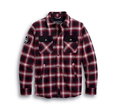 HARLEY-DAVIDSON Arterial Abrasion-Resistant Riding Shirt Hemd Jacke, 98124-20EM, XXL