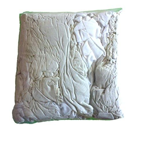 Bolsa de trapos y paños de limpieza (camisetas y pantalones de algodón reciclados) para mecánicos, pinturas, disolventes, casa, herramientas, grasas, etc (2 KG). Envío GRATIS 24 h.