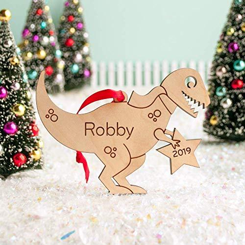 Rex Membership Christmas 2020 Amazon.com: Personalized Wood Dinosaur Tyrannosaurus Rex Babys