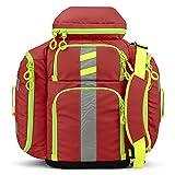 Statpacks G3 Perfusion Red, EMS Medic Hybrid Backpack, Side Sling, Shoulder Bag, Ergonomic, Lightweight ALS Trauma Bag for EMS, Police, Firefighters