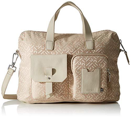ESPRIT Accessoires Damen 030EA1O304 Workingbag, 270/BEIGE, 1SIZE
