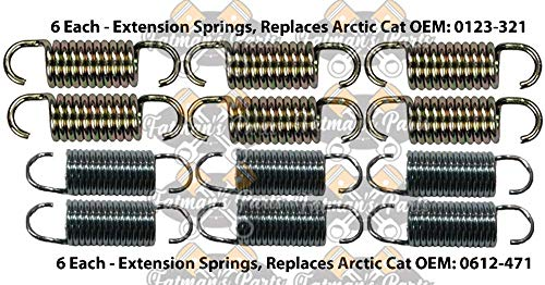 Exhaust Spring Replacement Kit used for Arctic Cat ZRT 600 800 Snowmobile