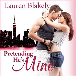 Pretending He's Mine audiobook cover art