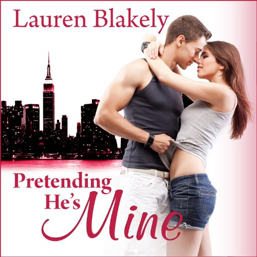 Pretending He's Mine audiobook cover art