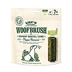 Woofbrush daily dog chews will reduce tartar building up and help keep your dog's teeth healthy The Woofbrush also freshens your dog's breath We make sure that all ingredients are natural and healthy for the dogs, to protect not only the mouth but al...