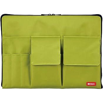 リヒトラブ バッグインバッグ A4 黄緑 A7554-6