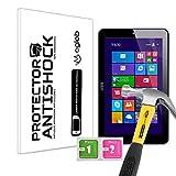 Protector de Pantalla Anti-Shock Anti-Golpe Anti-arañazos Compatible con Tablet Airis WinPAD 71W (TAB7HW)