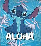 Disney Lilo & Stitch Twin Sized Plush Blanket Throw