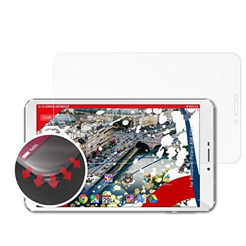 atFolix Schutzfolie kompatibel mit Blaupunkt Polaris A08.G301 Folie, entspiegelnde & Flexible FX Bildschirmschutzfolie (2X)