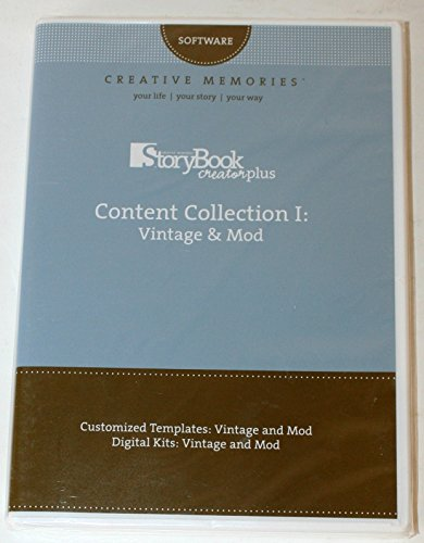 Creative Memories Content Collection 1: Vintage & Mod