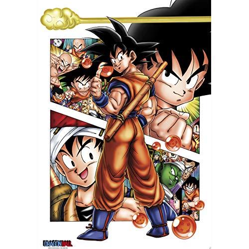 Póster 'Dragon Ball-Son Goku Story-One Sheet', Tamaño: 102 x 69 cm