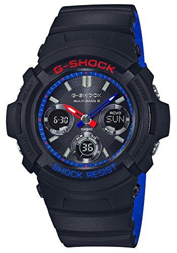 [カシオ] 腕時計 ジーショック 電波ソーラー AWG-M100SLT-1AJF メンズ