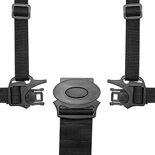 HBF Cintura Sicurezza Bambini per Seggiolone Cintura Passeggino con Materiale Morbido