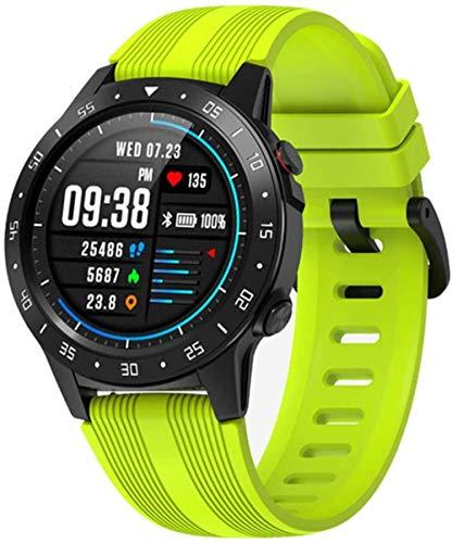 hwbq Hombres s y mujeres s nuevo posicionamiento GPS al aire libre impermeable Multi-Deportes modo reloj inteligente reloj inteligente para llamadas corriendo música-B