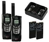 Cobra CXR925 Walkie Talkies 35-Mile Two-Way Radios with microTalk (Pair)