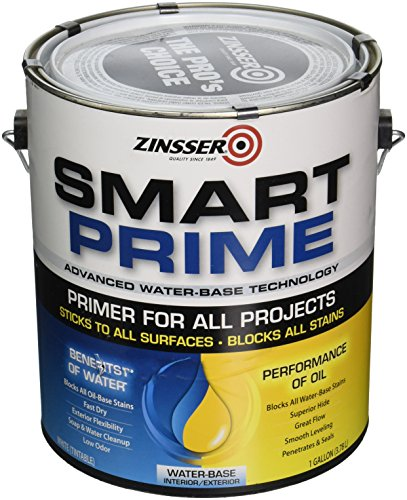 Zinsser Smart Prime Primer, 1-Gallon, White
