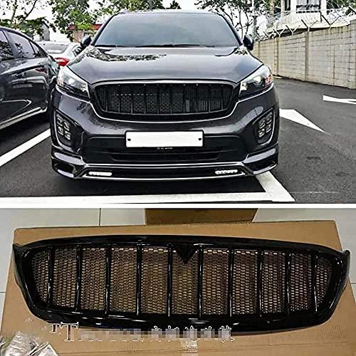 Auto Rejillas frontales de radiador Frente Bumper Grille, para Kia Sorento 2015 2016 2017