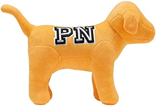 Victoria's Secret Pink Nation New! Plush Velvet Cozy Dog Stuffed Toy in Yellow NWT