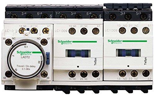 Schneider elec pic - pc7 05 00 - Arrancador estrella triangulo 24v 50/60hz rail