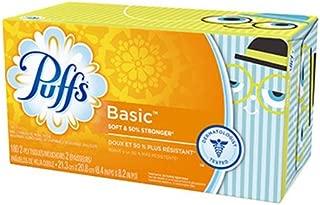 Puffs Basic Facial Tissues - 180 ct
