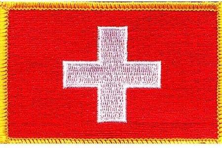Switzerland Max 79% OFF Louisville-Jefferson County Mall Flag Patch
