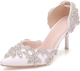 4b0d5e52e90 White Women's Pumps & Heels | Amazon.com