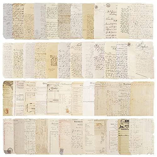 Papeles Decorados Scrapbooking,Scrapbooking Materiales Vintage,Accesorios para Scrapbooking,Papeles Decorativos Bullet Journal,Papeles Scrapbooking Vintage...