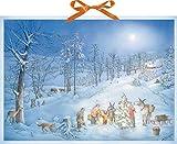 Coppenrath Weihnachten Überraschung für die Tiere Riesige Traditionelle Deutsche Adventskalender 52cm breit x 38cm