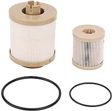FD4616 Diesel Fuel Filter - Fits 03-07 Ford F250 F350 F450 F550 Super Duty 03-05 Ford Excursion 6.0L Engine - Replaces 3C3Z-9N184-CA 3C3Z-6731-AA FD-4616- Upper Fuel Bowl, Lower Lifter Pump Filter Set