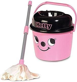 Casdon Little Helper Hetty Kids Mop and Bucket, Hetty/Grey/Black (657)