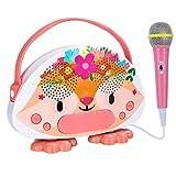 子供用カラオケカラBluetooth高性能カラオケおもちゃ 音楽プレーヤーメロディー 子どもおもちゃ プレーヤーメロディー スピーカー USBポート充電可能