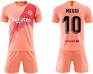 305b1f7cfaadd SEYE1 ° Combinaison Sportive, Maillot De Barcelone, Vêtement De Sport De  Football Messi N