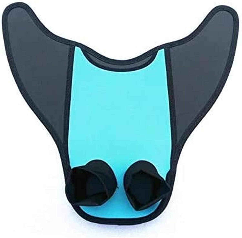 Arrival Mermaid Swimming Tail Fins One-Piece Flipper Swim Fins S