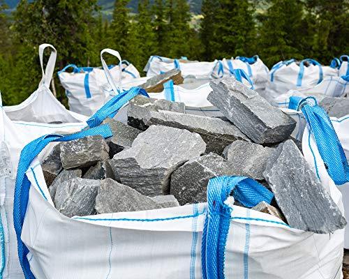 5 Stück Hochwertige BigBag 90x90x90cm Schüttgutbehälter Transportsack Big Bag * DIN EN ISO 21898 * Direkt beim Hersteller kaufen