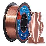 Shiny Silk Copper PLA Filament 1.75mm 3D Printer Filament 1KG (2.2LBS) Printing Materials Silky Shiny Metallic Metal Copper Like PLA 3D Printer Material