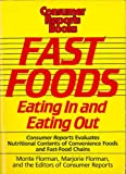 Fast Foods: Eating in and Eating Out