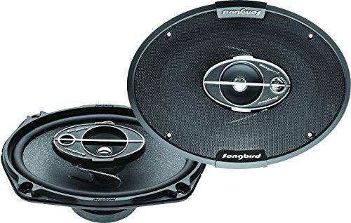 Songbird 6''X9'' Oval 450W Max 3 Way Car Speakers