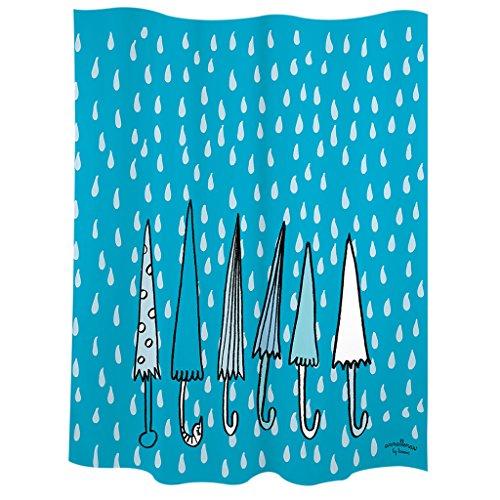 Laroom Cortina baño, Azul
