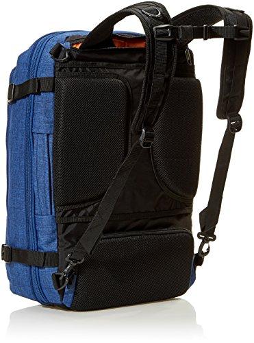 51x6xuu2fEL - AmazonBasics - Mochila compacta de viaje, Azul, para viajes de fin de semana