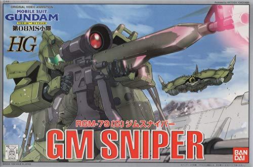 Bandai Hobby GM Sniper Bandai HG The 8th MS Team Action Figure